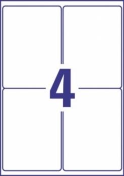 Всепогодные пленочные удаляемые этикетки Avery Zweckform [L4774REV-20] (99.1x139 мм, 80 шт, 20 листов)