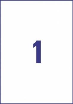 Всепогодные пленочные удаляемые этикетки Avery Zweckform [L4775REV-20] (210x297 мм, 20 шт, 20 листов)